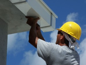 Check Gutters And Downspouts