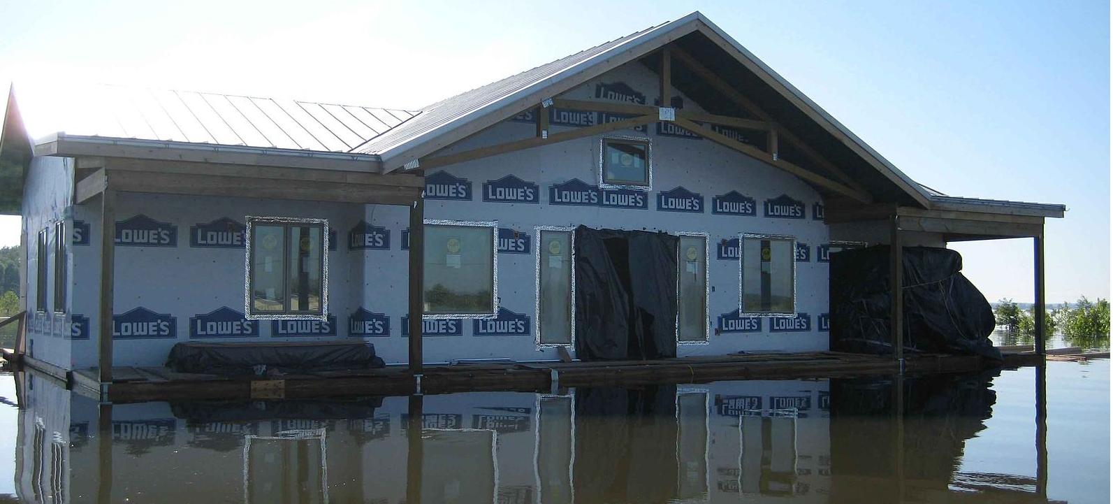 Flooded Basement In Summer