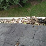 How To Clean Leaves From A Gutter Or Downspout
