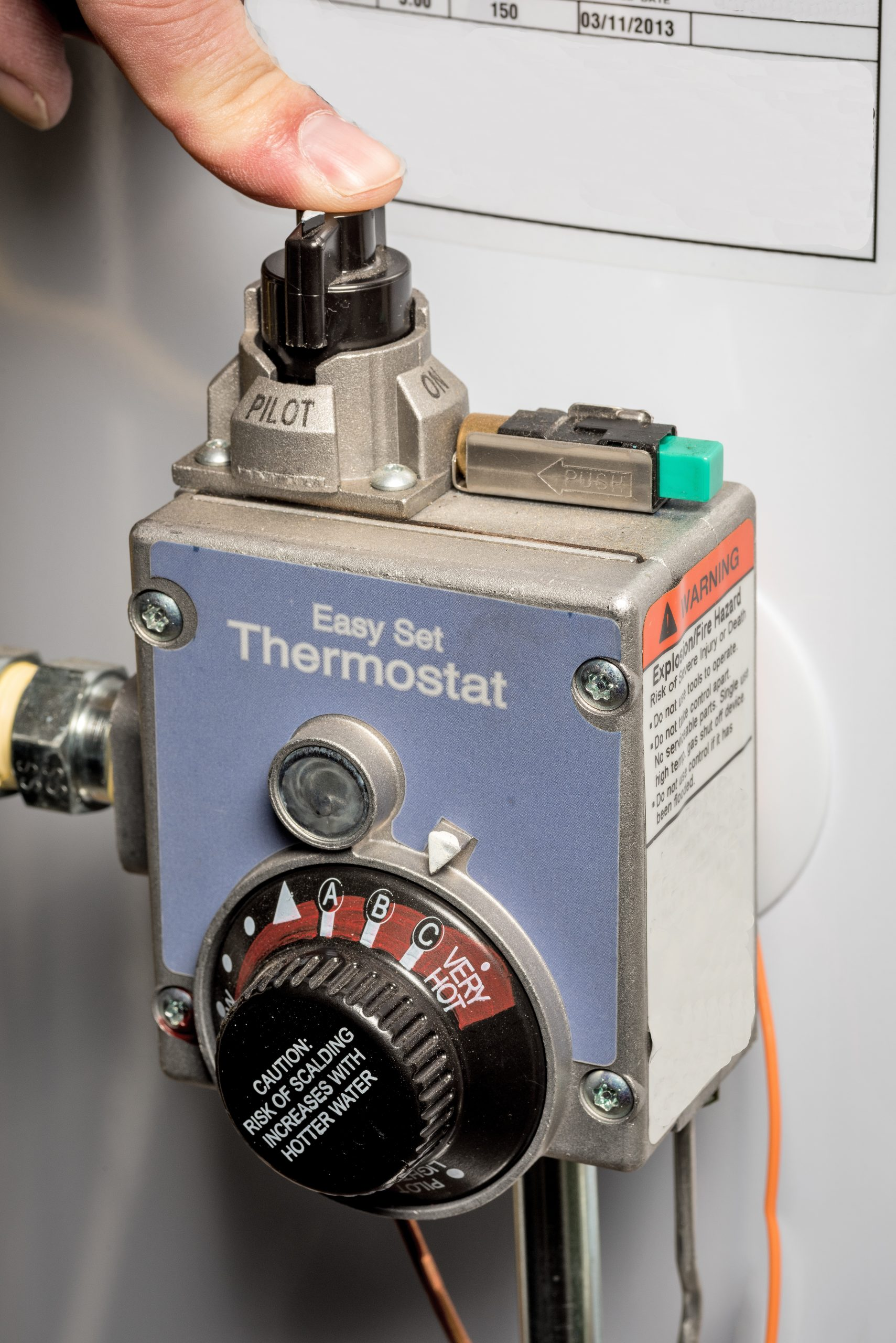 Ho to relight a pilot light | Pittsburgh | Terry's Plumbing