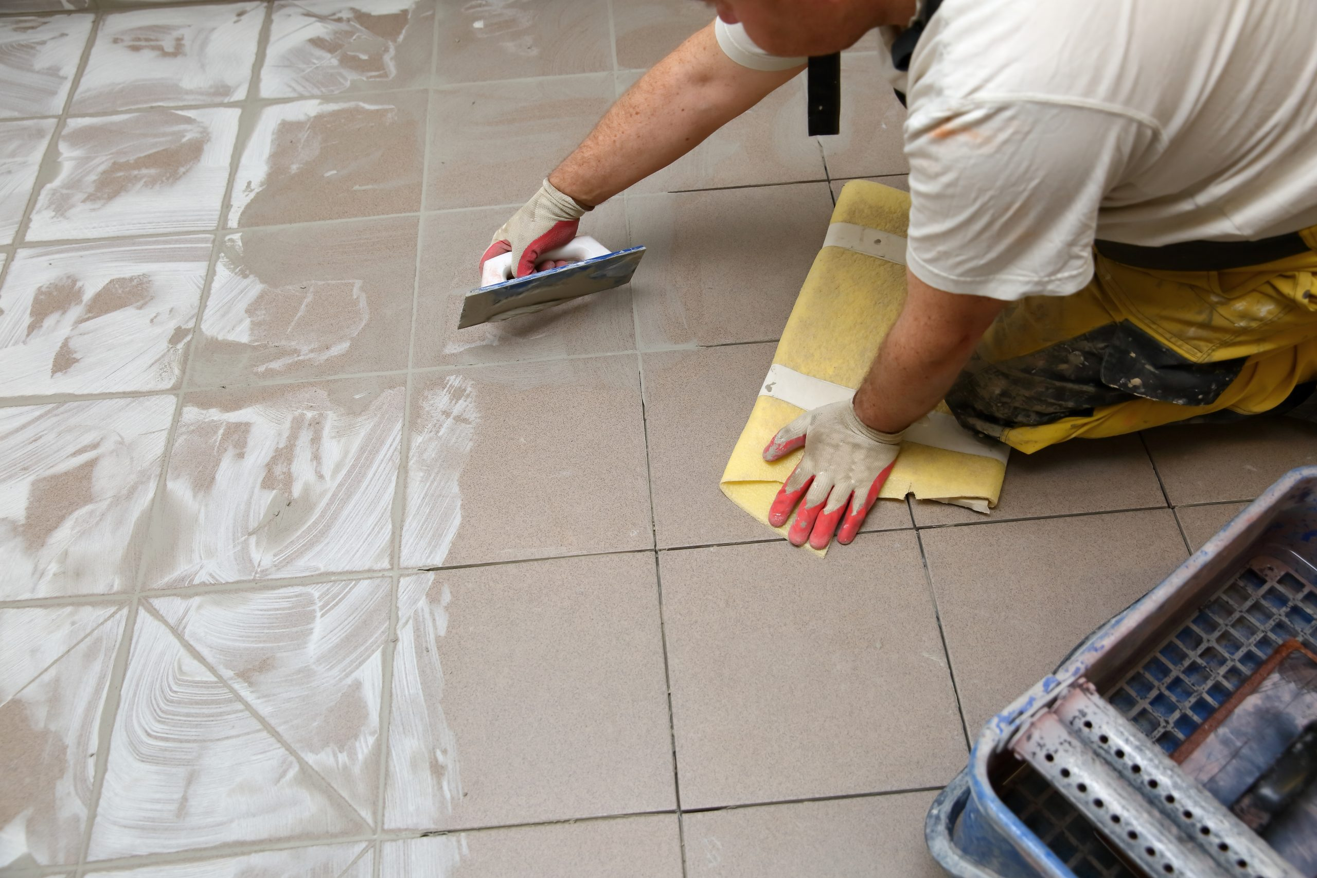 How to re-grout tile | Pittsburgh | Terry's Plumbing