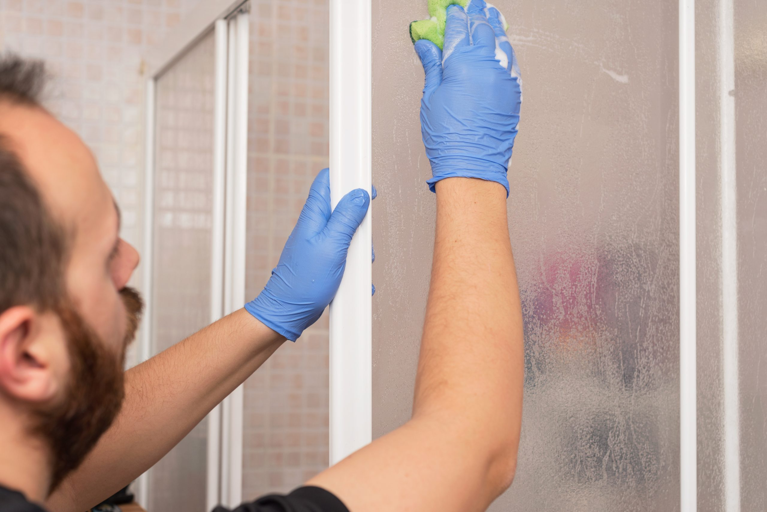 Removing Soap and Streaks from Shower Doors | Pittsburgh | Terrys Plumbing